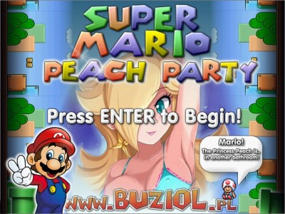 Super Mario Peach Party 1 | PC Game Download Free