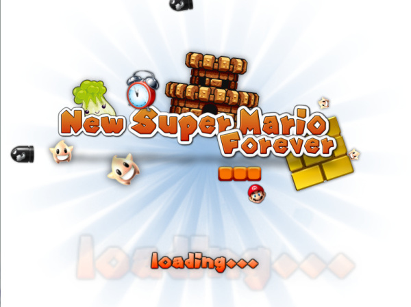 New Mario Forever 2012 Loading Screen
