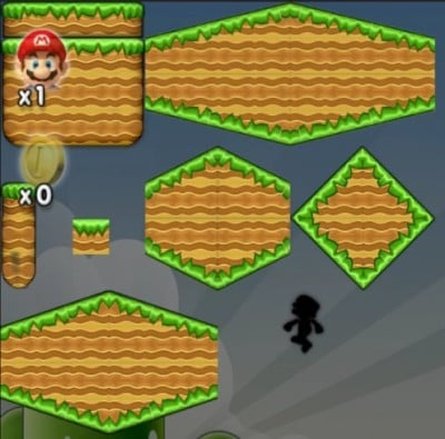 Placing Tiles Mario Forever