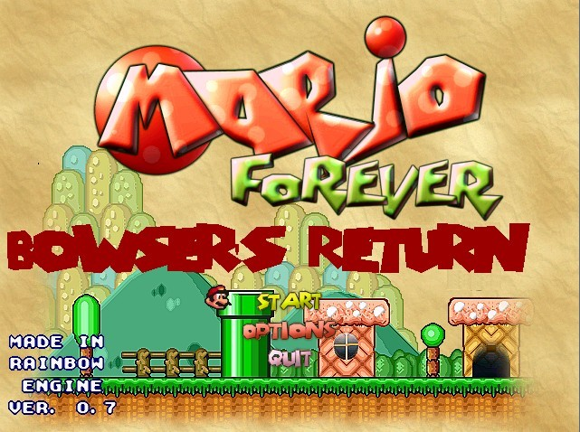 Mario Forever - Bowsers Return - World 1