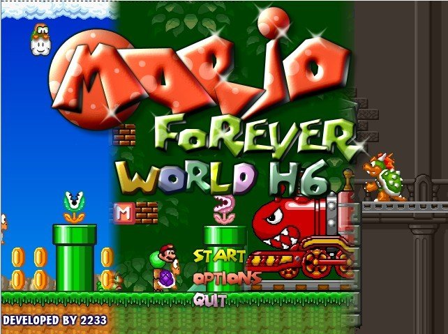 mario forever galaxy review