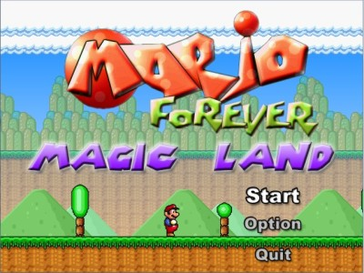 Softendo Mario Forever Fangame - Magic Land